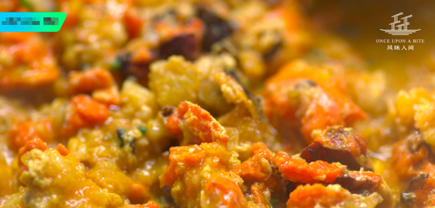 鲜美蟹肉(图源自《风味阳世》微博)