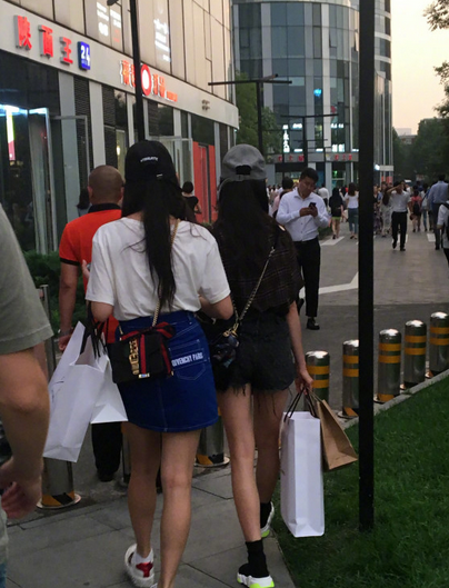 偶遇程潇和吴宣仪