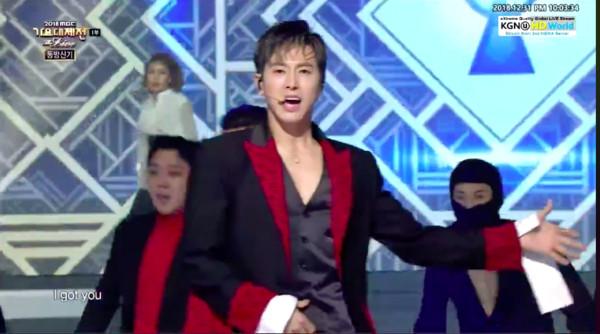 《MBC歌谣大祭典》东方神首睽违4年演出。