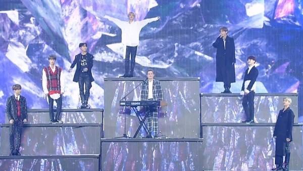 BTS與斷眉合唱