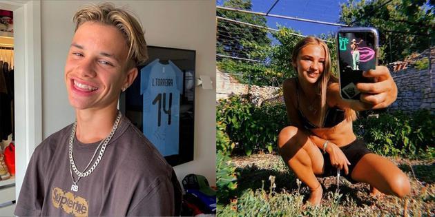 17歲兒子羅密歐與緋聞女友Mimi Moocher