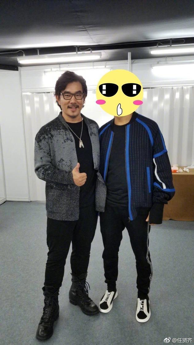 之前任贤齐为新戏增肥到100公斤。