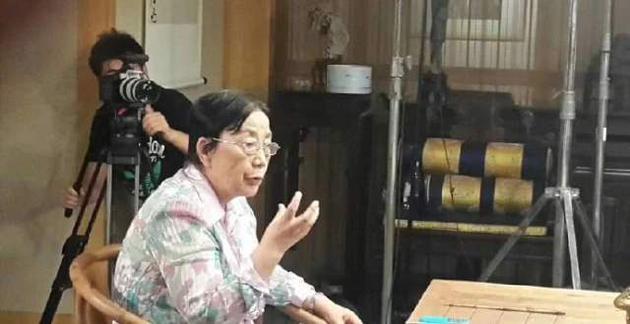鄒憶青生前接受採訪。圖片來自網絡