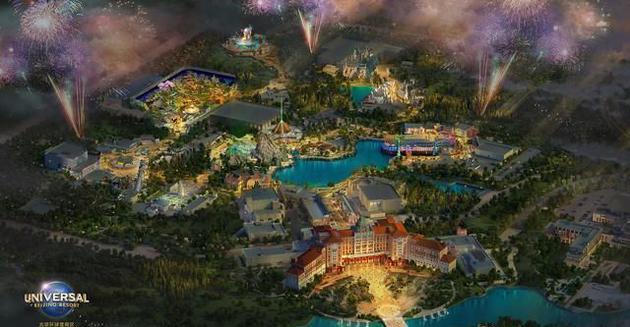 北京环球影城2021年5月正式开园 春季试运营