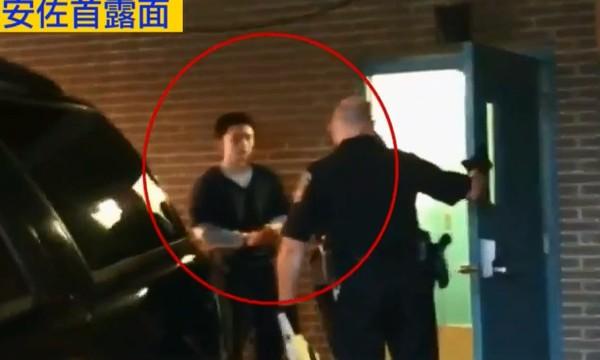 孙安佐被关28天后首度露面