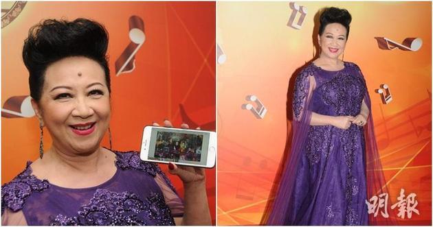 薛家燕被网民再次恶搞,她笑言拍成贺岁片的话必大卖。
