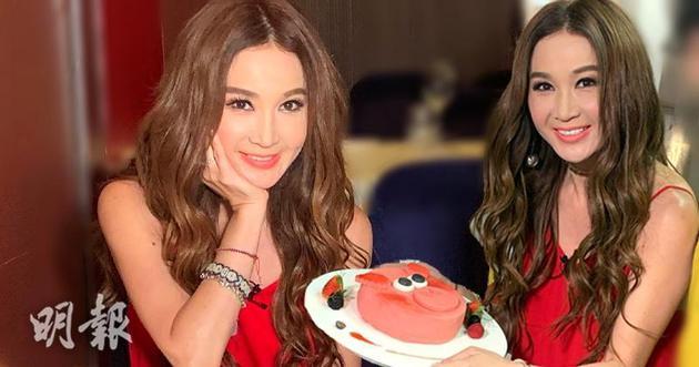溫碧霞最愛吃甜品,首次製作豬仔蛋糕覺得好玩。