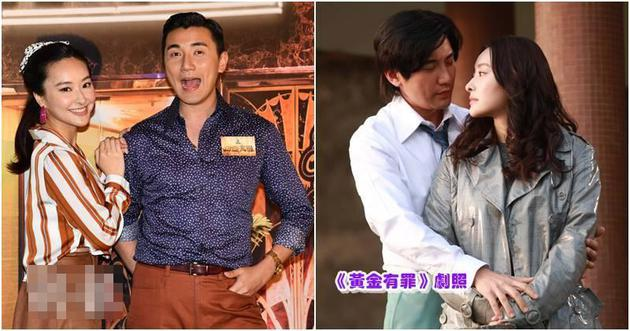 陈滢与洪永城戏中有感情线,昨天(1月6日)拍照仍十分默契。