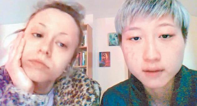 吴卓林与网红女友Andi