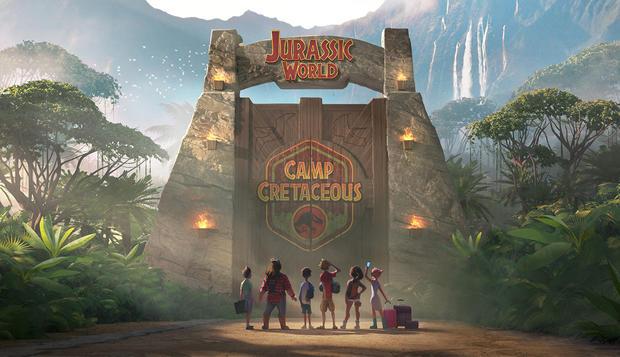 動畫劇集《侏羅紀世界:白堊紀》(配圖來源:新京報)