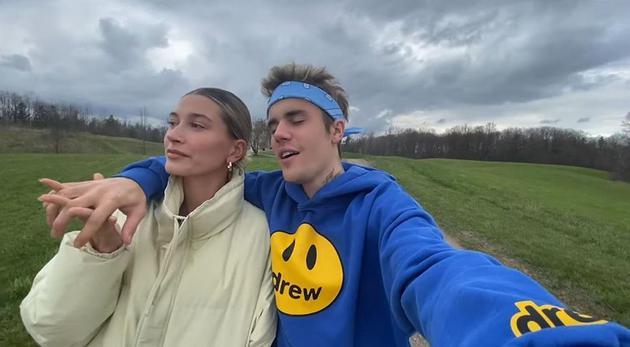 Hailey和Justin Bieber
