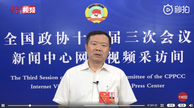 全国政协委员、中国民航局副局长李健