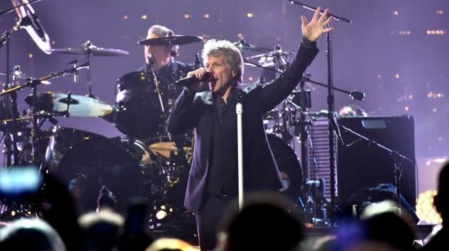 邦-乔维正式入驻摇滚名人堂 共卖出超1.2亿张专辑