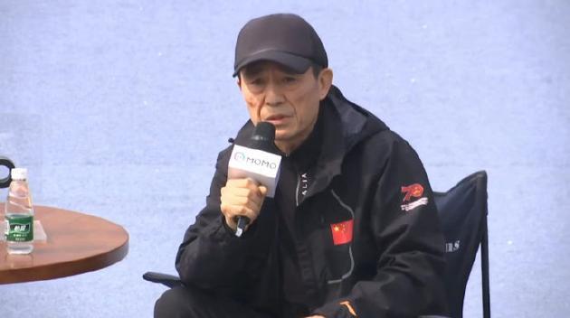 张艺谋笑称自己可能是中国最忙导演