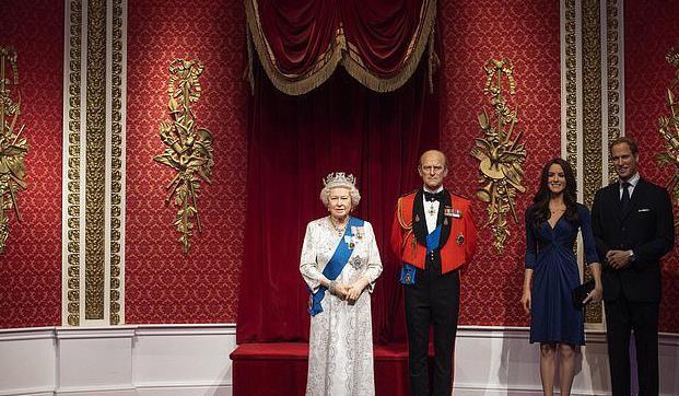 哈里梅根蜡像被移出皇室布景(图源/俄罗斯卫星通讯社)