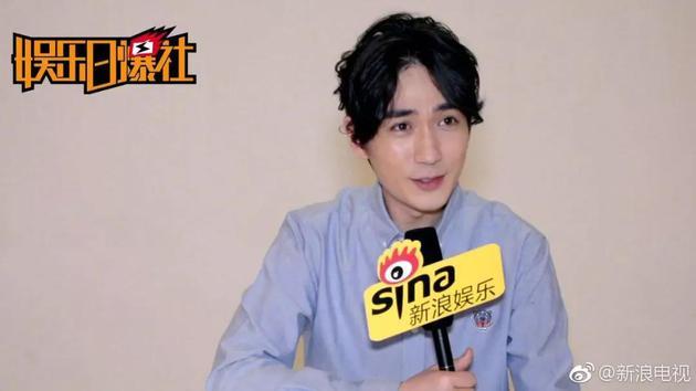 朱一龙接受新浪娱乐专访