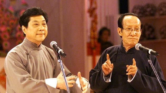 常贵田(左)和常宝华(右)以前演出照片。图/视觉中国