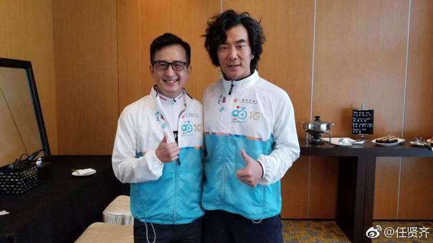 任贤齐18日在香港出席活动,透露已经瘦了17公斤。