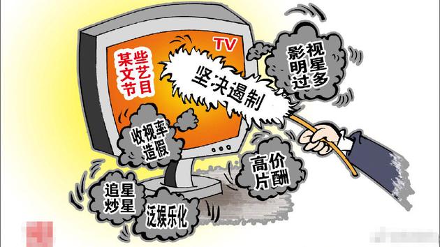 广电总局:对高价片酬、收视率造伪等题目添大惩戒