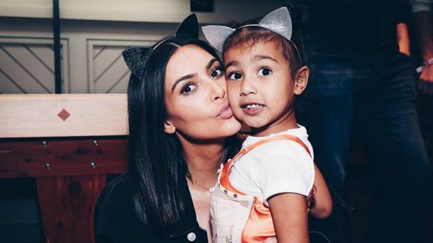 金卡戴珊(Kim Kardashian)女兒日前已經滿六歲