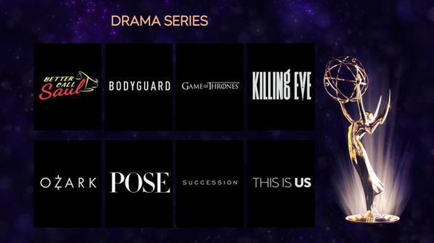 2019艾美奖提名名单:《权游》最终季创纪录