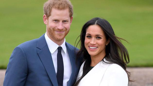 哈里王子和梅根夫妇