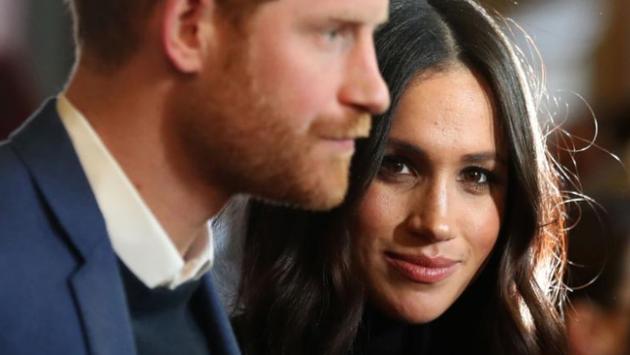 哈里王子与其单身妻梅格汉·马克尔 图片来源:CNN