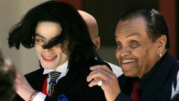 迈克尔·杰克逊与父亲乔瑟夫·杰克逊