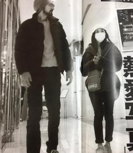 大島優子與美國男子約會