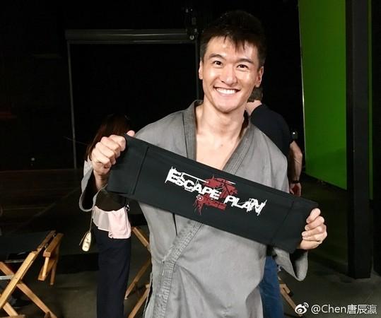 唐辰瀛演出《金蝉脱壳2》。