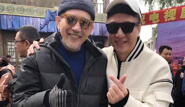 秦汉与孙红雷在新戏中首次合作。