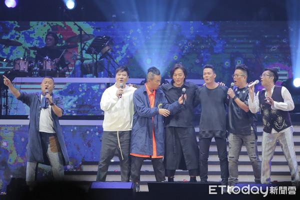 谭咏麟、曾志伟、郑伊健、陈小春、钱嘉乐、谢天华、林晓峰
