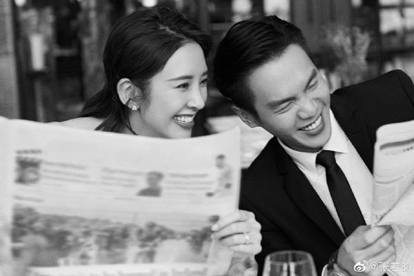 组图:张若昀唐艺昕晒照宣布结婚 佟丽娅吴磊等众星齐送祝福