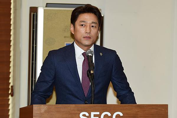 组图:韩星池珍熙出席发布会 被委任清州工艺展宣传大使