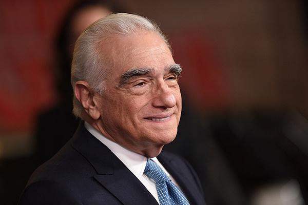 當地時間2019年10月24日,美國洛杉磯,77歲的馬丁·斯科塞斯出席電影《愛爾蘭人》(The Irishman)的首映式紅毯。視覺中國 資料圖