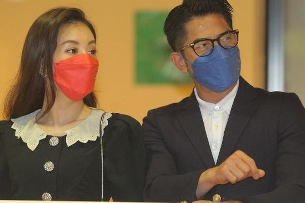郭富城方媛合体为爱驹打气 赢得50万奖金