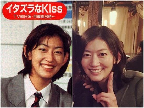 佐藤蓝子19岁出演《一吻定情》,现在38岁了容貌未变