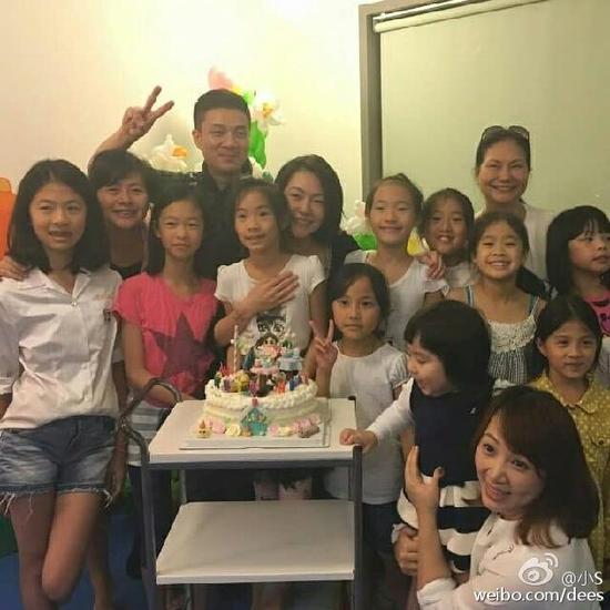 小S女儿生日派对