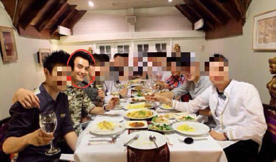 王凯被曝曾与11名gay圈名媛同游泰国