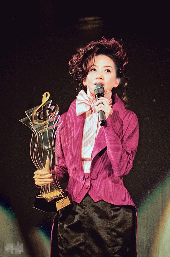 梅艳芳遗物将被拍卖 包括新秀冠军奖座