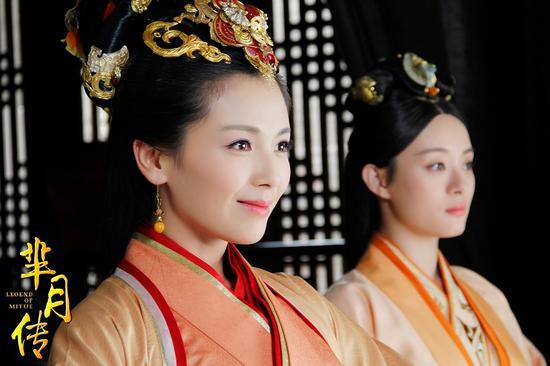 《芈月传》中刘涛姐妹霸气威震后宫