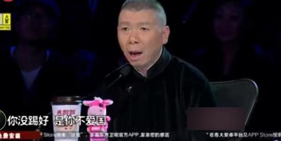 冯小刚曾在《笑傲江湖》上谈国足