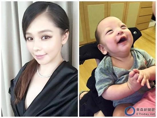徐若瑄与儿子