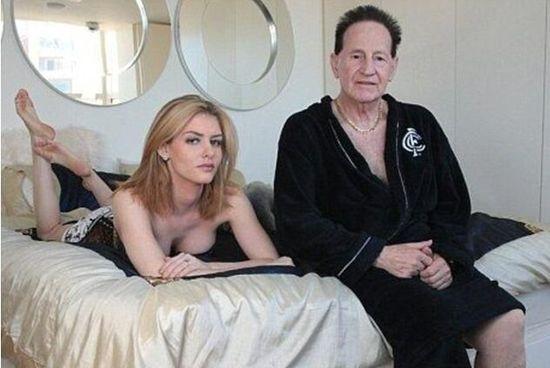 72岁的杰弗里与26岁的娇妻大晒幸福爷孙恋