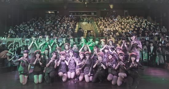 SNH48录《国民美少女》暂别舞台
