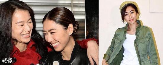 胡杏儿下周大婚,胡定欣(右图)将出任伴娘