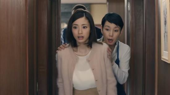 上户彩产后美胸升级,最新广告曝光,她小奔跑胸部跟着晃动,画面叫人喷火!