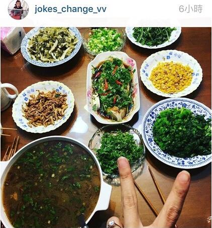 张孝全女友在IG贴出菜肴照,手上钻戒显眼。