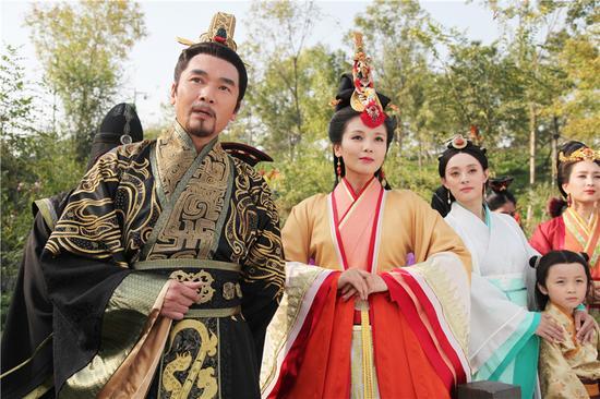 秦惠文王与芈氏姐妹
