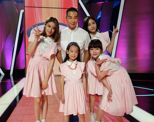赵文卓父亲女与T-ara